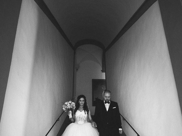 Il matrimonio di Daniele e Marianna a San Miniato, Pisa 29