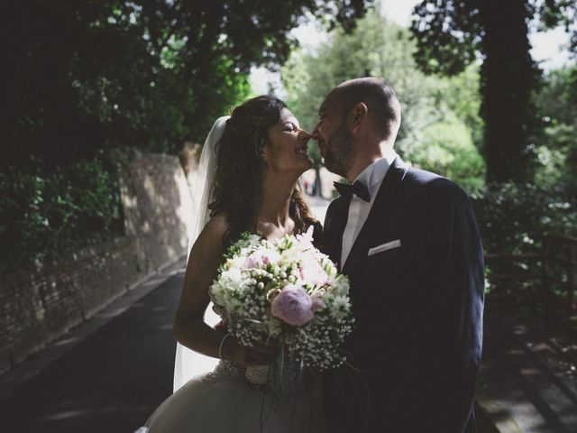 Il matrimonio di Daniele e Marianna a San Miniato, Pisa 39