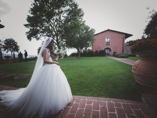 Il matrimonio di Daniele e Marianna a San Miniato, Pisa 41