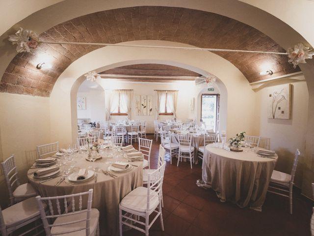 Il matrimonio di Daniele e Marianna a San Miniato, Pisa 42