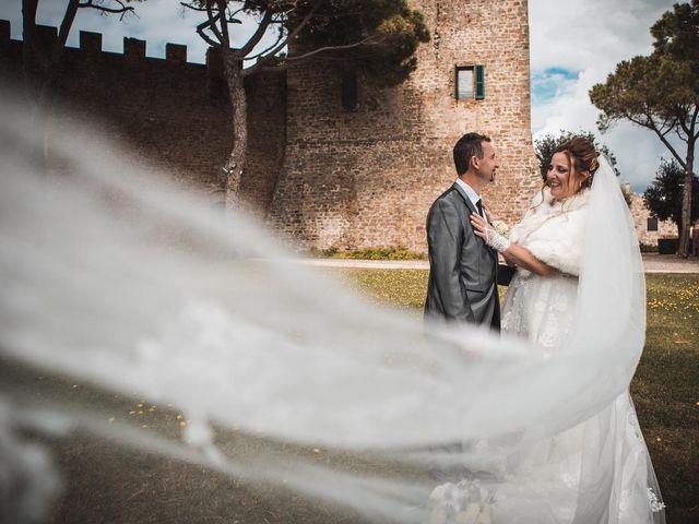 Il matrimonio di Andrea e Veronica a Castiglione della Pescaia, Grosseto 1