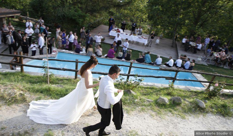 Il matrimonio di Alessio e Chiara a Gavi, Alessandria