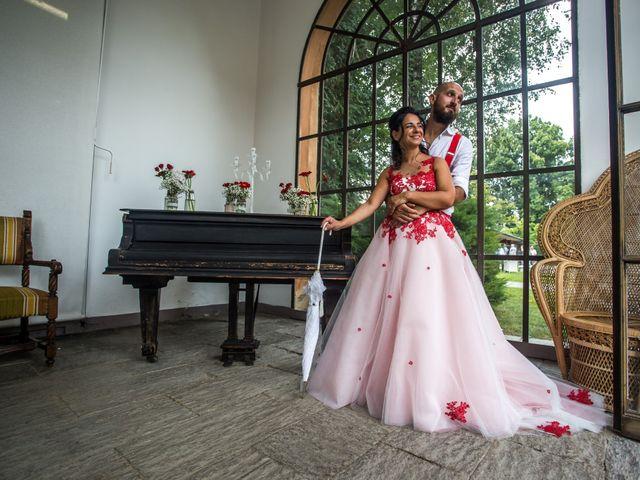 Il matrimonio di Gigi e Katia a Tradate, Varese 34