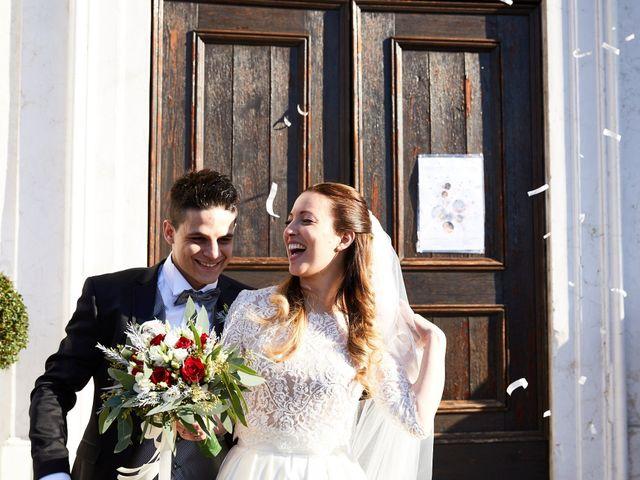 Il matrimonio di Mattia e Giulia a Roncade, Treviso 35