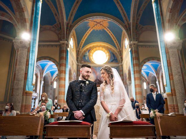 Il matrimonio di Mattia e Martina a Monticello Brianza, Lecco 23