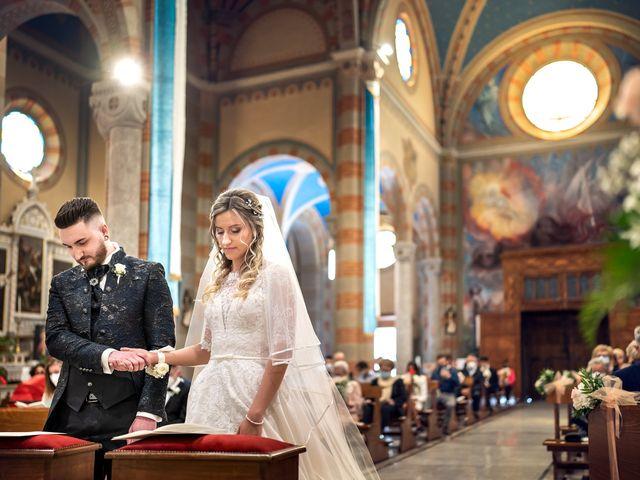 Il matrimonio di Mattia e Martina a Monticello Brianza, Lecco 25