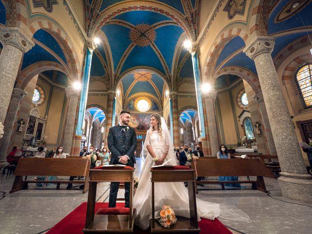 Il matrimonio di Mattia e Martina a Monticello Brianza, Lecco 27