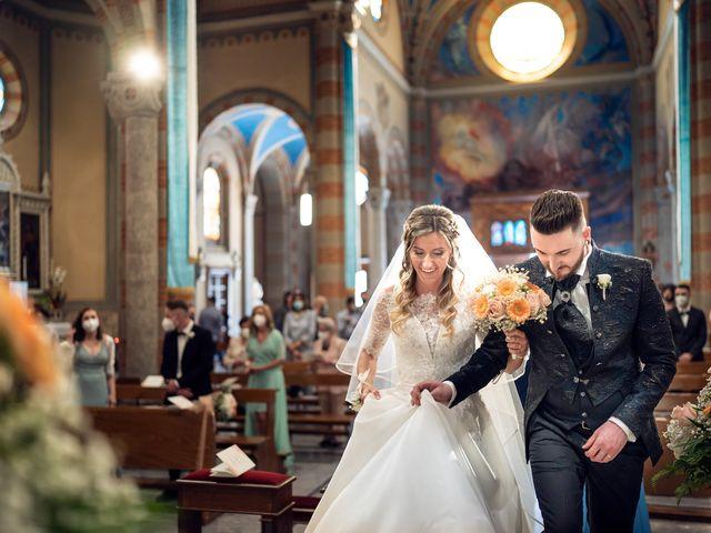 Il matrimonio di Mattia e Martina a Monticello Brianza, Lecco 28