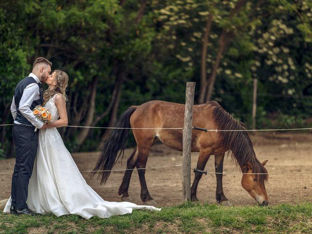 Il matrimonio di Mattia e Martina a Monticello Brianza, Lecco 41