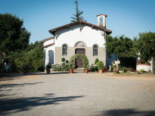 Il matrimonio di Claudio e Caterina a Fucecchio, Firenze 1