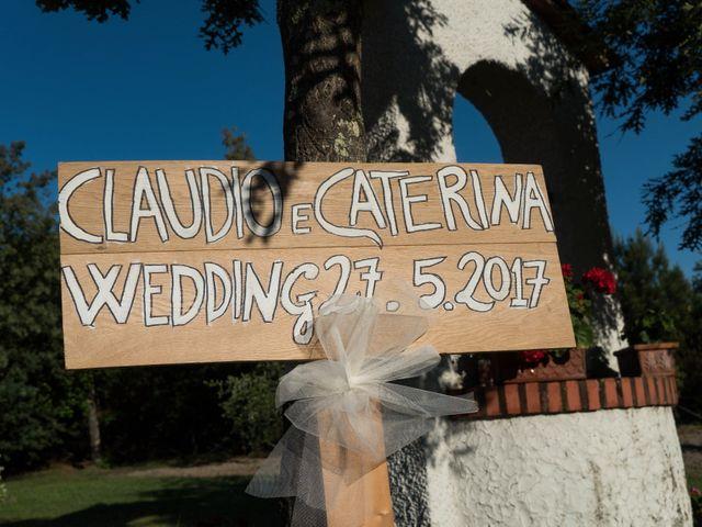 Il matrimonio di Claudio e Caterina a Fucecchio, Firenze 2