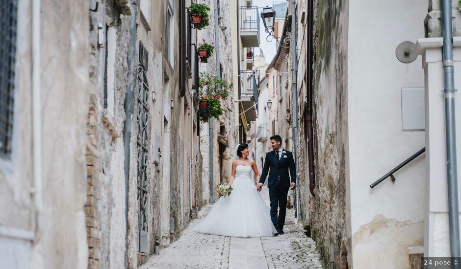 Il matrimonio di Amedeo e Angela a Pretoro, Chieti
