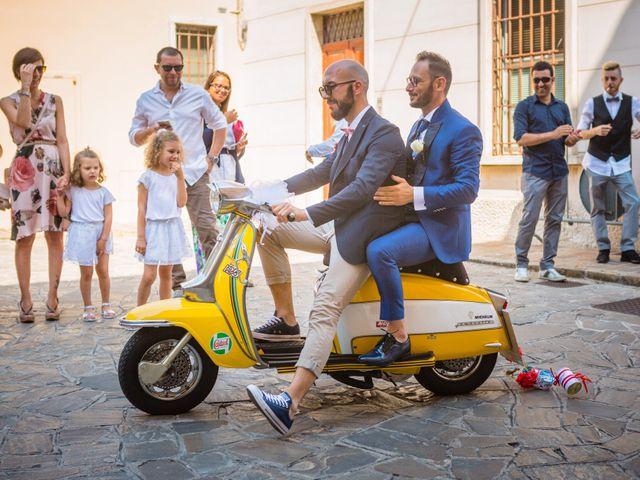 Il matrimonio di Ferd e Lara a Serra de' Conti, Ancona 10