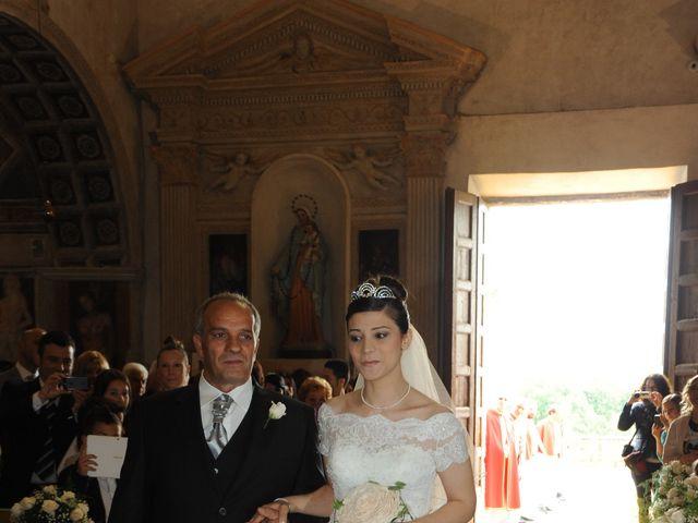 Il matrimonio di Maria Francesca e Almerindo a Rignano Flaminio, Roma 21