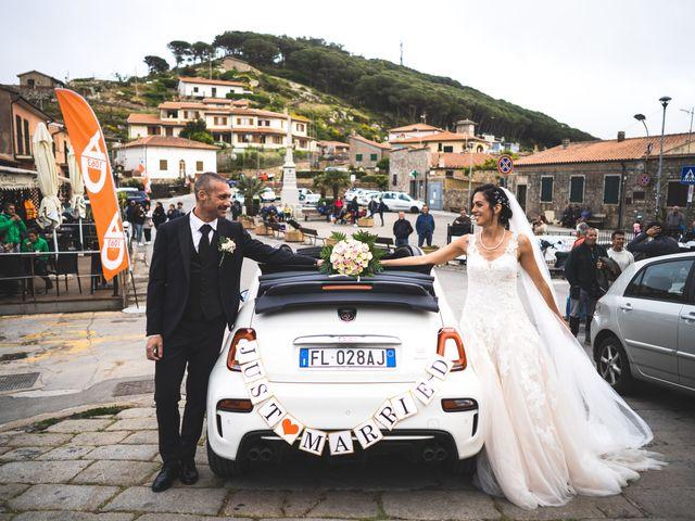 Il matrimonio di Alessio e Chiara a Isola del Giglio, Grosseto 47