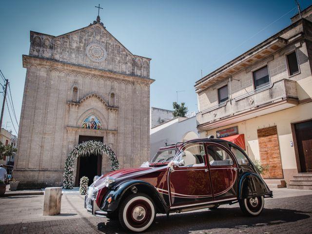 Il matrimonio di Davide e Denise a Torre Santa Susanna, Brindisi 14
