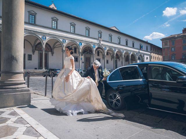 Il matrimonio di Marianna e Guido a Firenze, Firenze 11