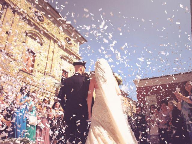 Il matrimonio di Giuseppe e Tiziana a Gissi, Chieti 24