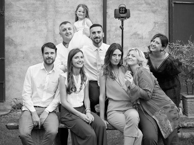 Il matrimonio di Michael e Laura a Corte de' Frati, Cremona 66