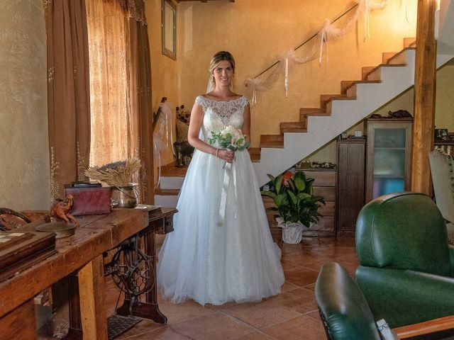 Il matrimonio di Fabrizio e Flavia a Scheggino, Perugia 12