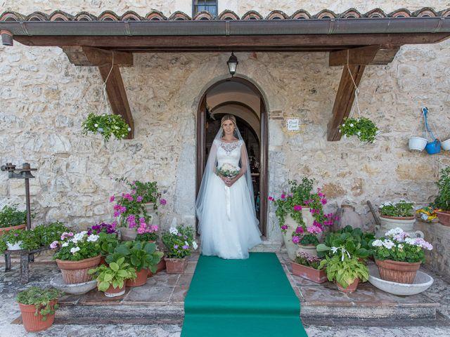 Il matrimonio di Fabrizio e Flavia a Scheggino, Perugia 13