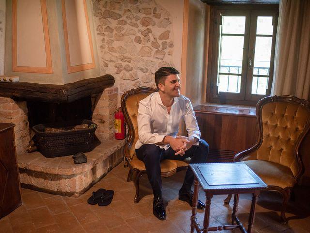 Il matrimonio di Fabrizio e Flavia a Scheggino, Perugia 15