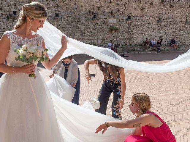 Il matrimonio di Fabrizio e Flavia a Scheggino, Perugia 21