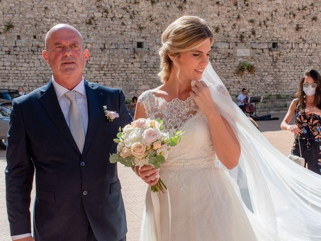 Il matrimonio di Fabrizio e Flavia a Scheggino, Perugia 22