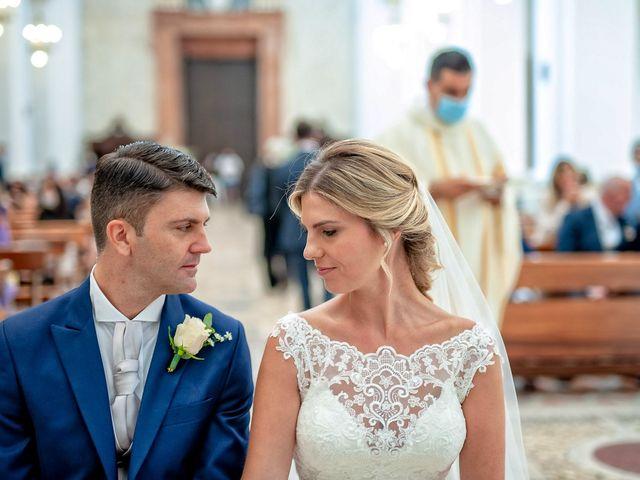 Il matrimonio di Fabrizio e Flavia a Scheggino, Perugia 30
