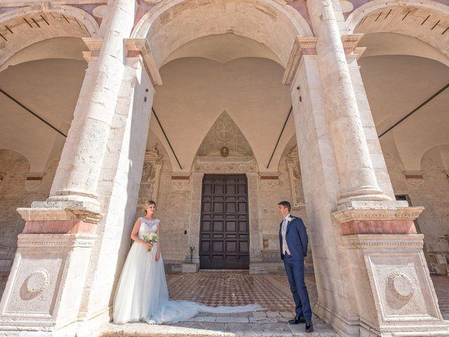 Il matrimonio di Fabrizio e Flavia a Scheggino, Perugia 33