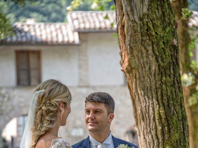 Il matrimonio di Fabrizio e Flavia a Scheggino, Perugia 36