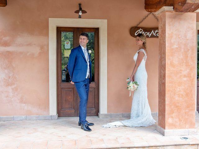 Il matrimonio di Fabrizio e Flavia a Scheggino, Perugia 2
