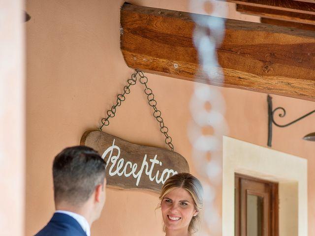 Il matrimonio di Fabrizio e Flavia a Scheggino, Perugia 41