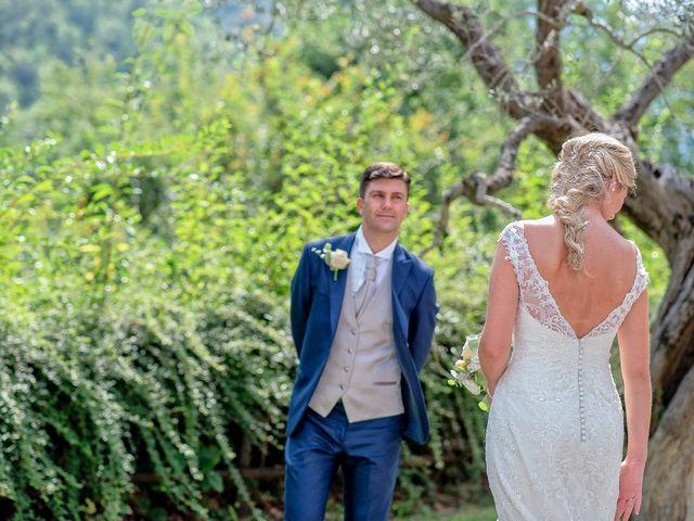 Il matrimonio di Fabrizio e Flavia a Scheggino, Perugia 43