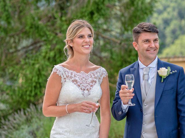 Il matrimonio di Fabrizio e Flavia a Scheggino, Perugia 45