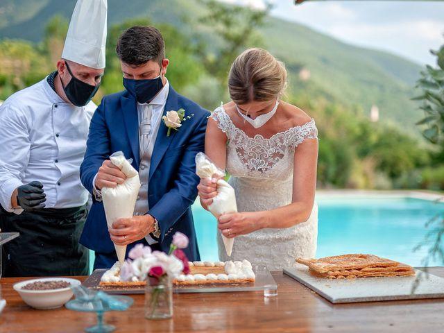 Il matrimonio di Fabrizio e Flavia a Scheggino, Perugia 59