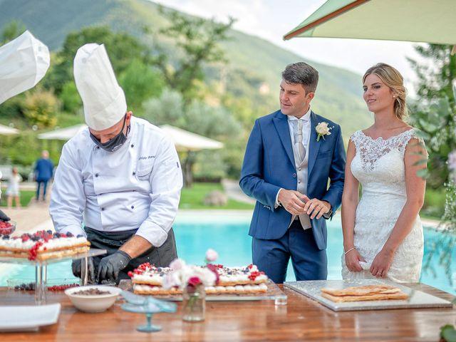 Il matrimonio di Fabrizio e Flavia a Scheggino, Perugia 60