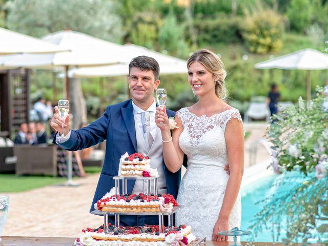 Il matrimonio di Fabrizio e Flavia a Scheggino, Perugia 61