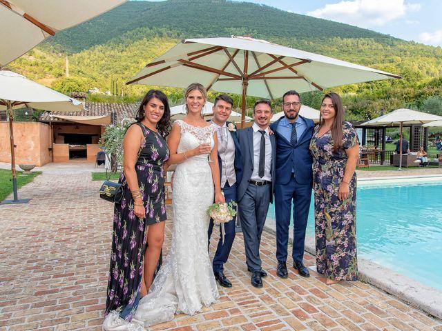 Il matrimonio di Fabrizio e Flavia a Scheggino, Perugia 66