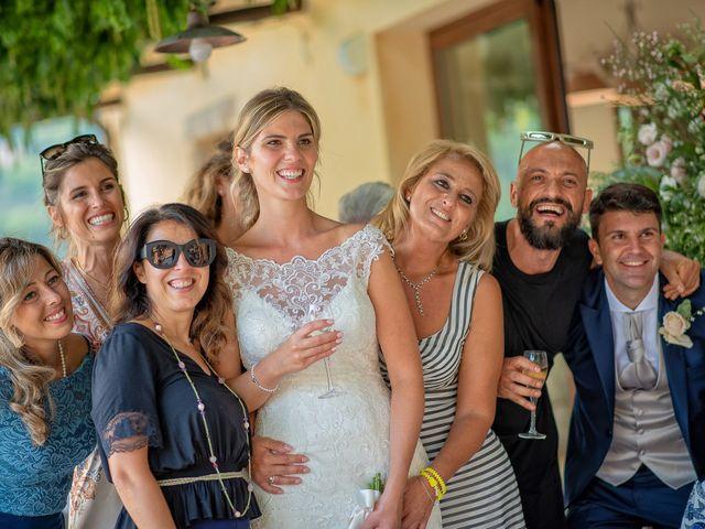 Il matrimonio di Fabrizio e Flavia a Scheggino, Perugia 67