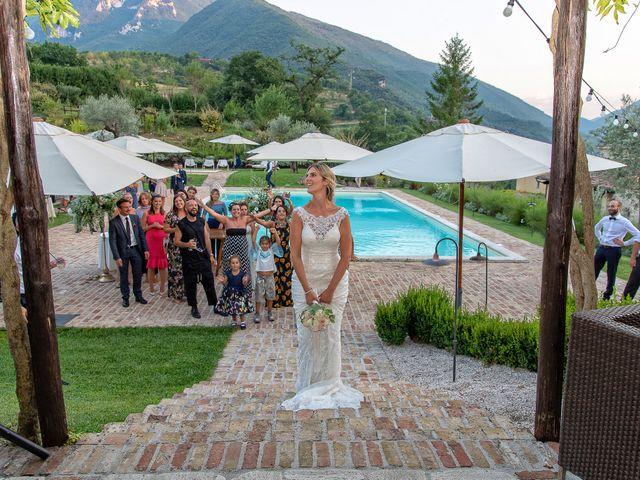 Il matrimonio di Fabrizio e Flavia a Scheggino, Perugia 71
