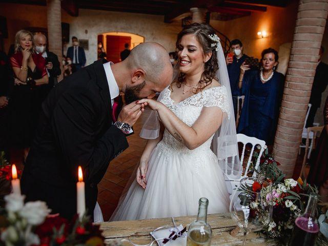 Il matrimonio di Andrea e Francesca a Scandiano, Reggio Emilia 42