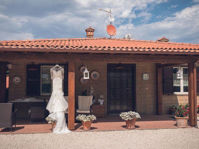 Il matrimonio di Laura e Giovanni a Pitigliano, Grosseto 2