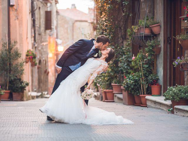 Il matrimonio di Laura e Giovanni a Pitigliano, Grosseto 22