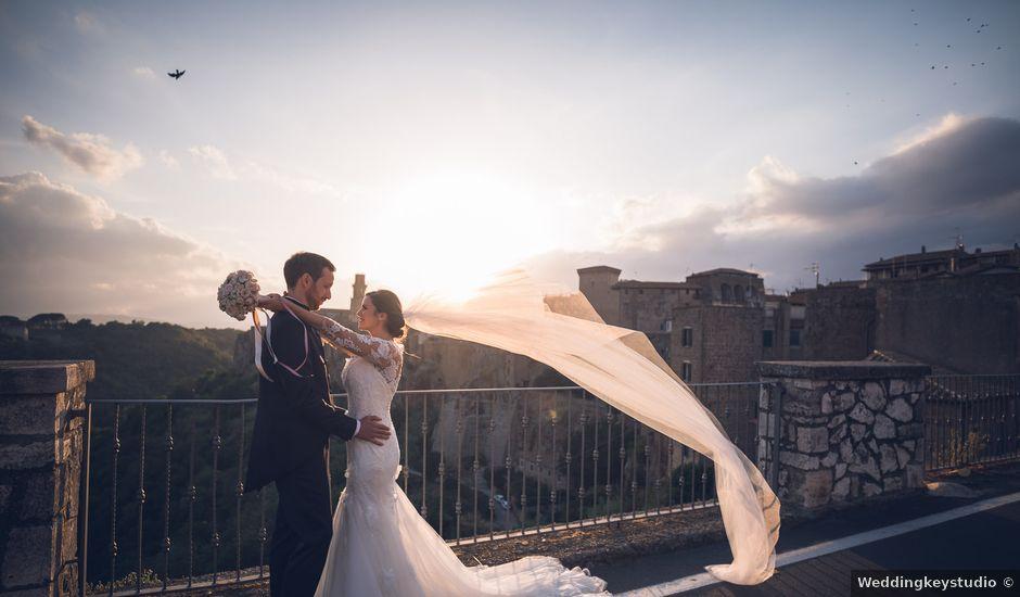 Il matrimonio di Laura e Giovanni a Pitigliano, Grosseto