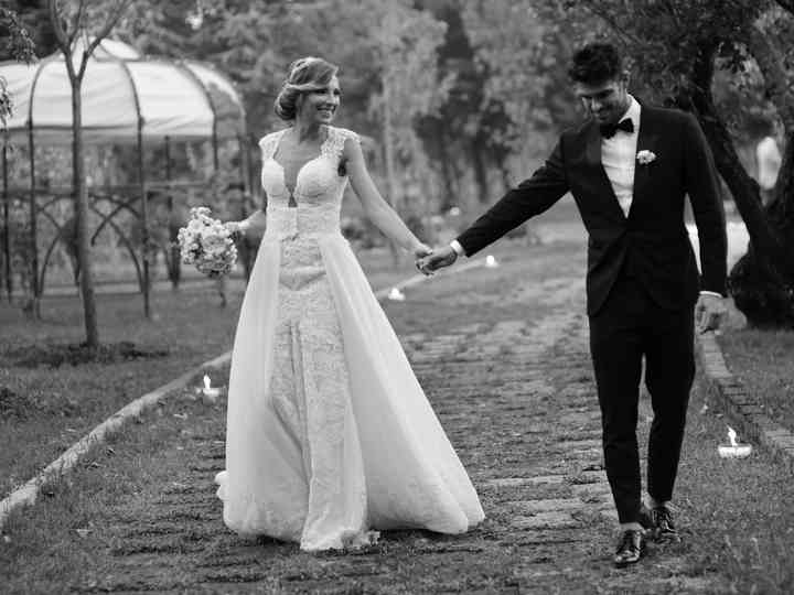 Le nozze di Tara e Cristian