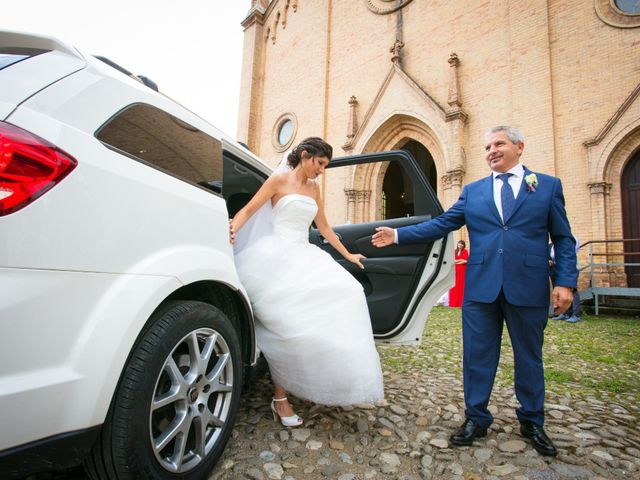 Il matrimonio di Luca e Elisa a Camposanto, Modena 16