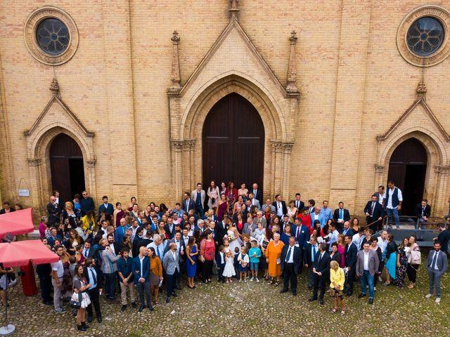 Il matrimonio di Luca e Elisa a Camposanto, Modena 35