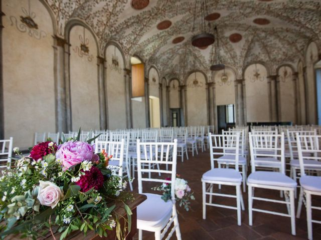 Il matrimonio di Fabio e Silvia a Calco, Lecco 34