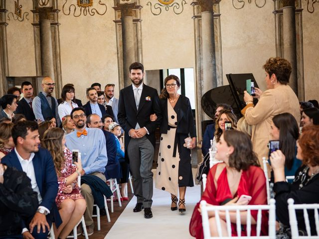 Il matrimonio di Fabio e Silvia a Calco, Lecco 36